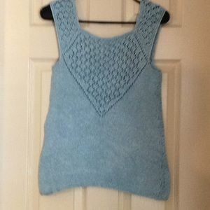 Tops - Ladies Hand Knit Top Sz S